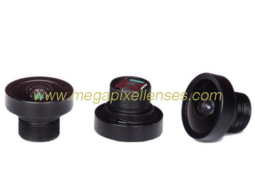 "1/5"" 0.9mm F2.0 M7*0.35 mount 150° wide angle lens for Vehicle rear-view mirror"