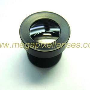 "1/6"" 2.5mm F2.2 vehicle cctv lens for automobile data recorder with IR filter"