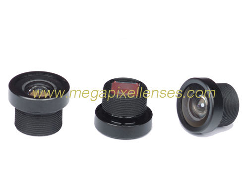 "1/4"" 1.5mm M8*0.5 mount Vehicle-mounted wide angle lens for Rear-view mirror"