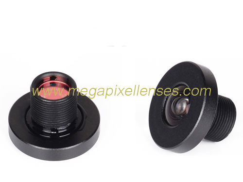 "1/5"" 4mm F2.0 M8*0.5P mount low-distortion lens for Automobile data recorder"