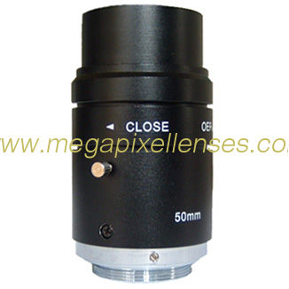 "2/3"" 1/2"" 50mm F2.8~C Industrial C Mount lens with format Φ11 for 2/3"" Φ8 for 1/2"""
