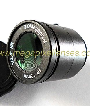 "1/2.5"" 12mm F1.2 3Megapixel CS-mount Manual IRIS CCTV Lens 1251212CS-3MP"