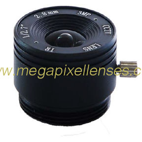 "1/2.7"" 2.8mm F1.8 3Megapixel CS-mount IR CCTV Lens 1272818IRCS-3MP"