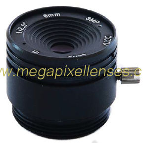 "1/2.5"" 6mm F1.8 3Megapixel CS-mount IR CCTV Lens 1250618IRCS-3MP"