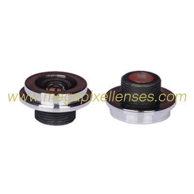 "1/4"" 0.9mm M8*0.5 mount 170degree wide angle lens for Vehicle Rear-view mirror"