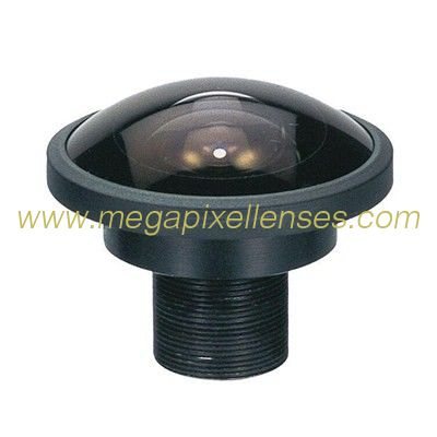 "2/3"" 2.0mm Megapixel S-mount M12 Mount 195degree IR Fisheye Lens, M12 Panoramic camera lens"