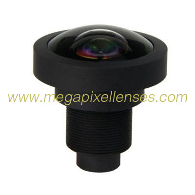 "1/1.8"" 1.47mm 10Megapixel M12x0.5 mount 185degree IR Fisheye Lens for IMX178 Sensor"
