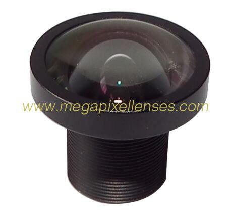 "1/2.7"" 3.0mm F2.1 2Megapixel M12x0.5 S mount low-distortion lens for 1/2.7"" 1/3"" sensors"