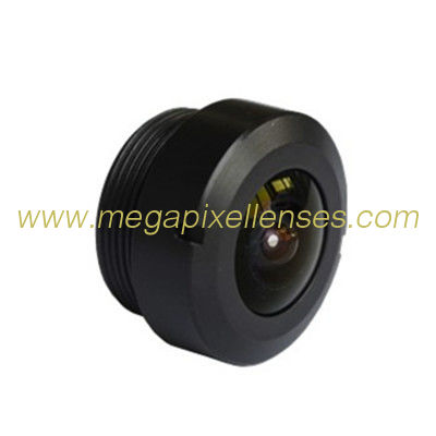 "1/2.8"" 1.25mm Megapixel 1080P M12x0.5 Mount 190degree IR Fisheye Lens, visual doorbell vehicle camera lens"