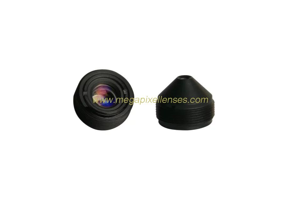 "1/2.7"" 3.7mm F2.5 2Megapixel M12x0.5 mount Sharp Cone Pinhole Lens for covert cameras"