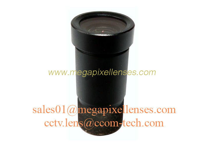 "1/2.5"" 6.0mm F1.2 3Megapixel M12x0.5 S mount low light lens, 6mm starlight M12 board lens"