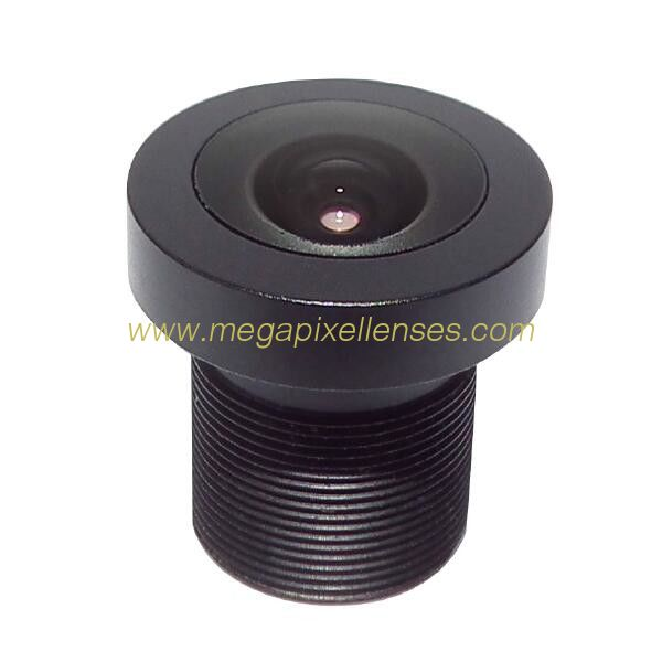 "1/2.7"" 2.6mm F1.8 3Megapixel M12x0.5 mount 162degree wide angle board lens prime lens"